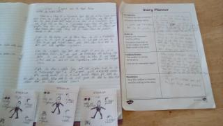 Angus's Story and plan